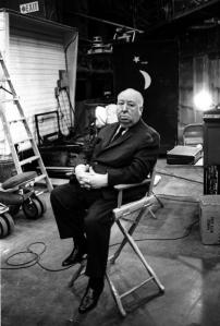 Alfred Hitchcock - movie director.