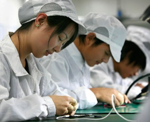 Apple in China.