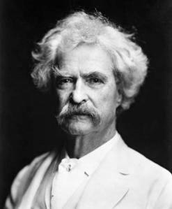 Mark Twain, autor norte-americano.