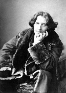 Oscar Wilde, English author.