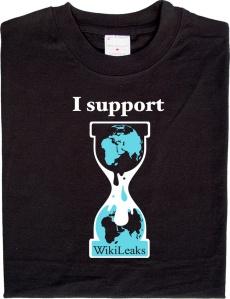 Camiseta da Wikileaks