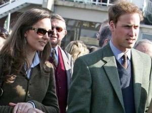 Príncipe William e sua noiva, Kate Middleton.